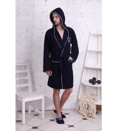 Спортивный укороченный халат из бамбука Buffalo SPORT(PECHE MONNAIE France 905deep) - Снова в продаже!
