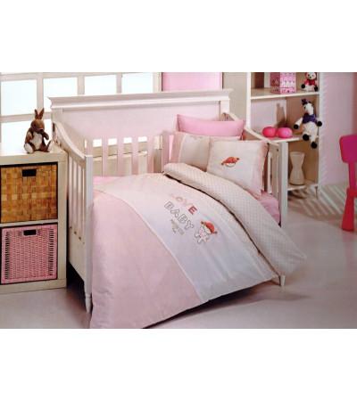 Детский комплект постельного белья в кроватку Love Baby(EMD145)