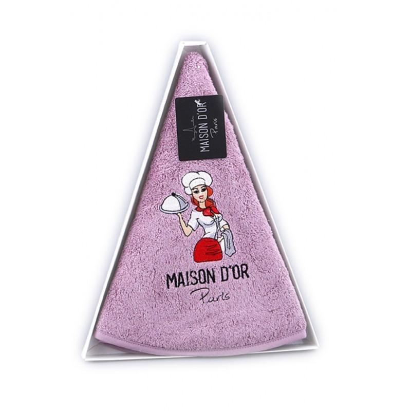 Оригинальное круглое полотенце для кухни MAXI BOX (EMD)