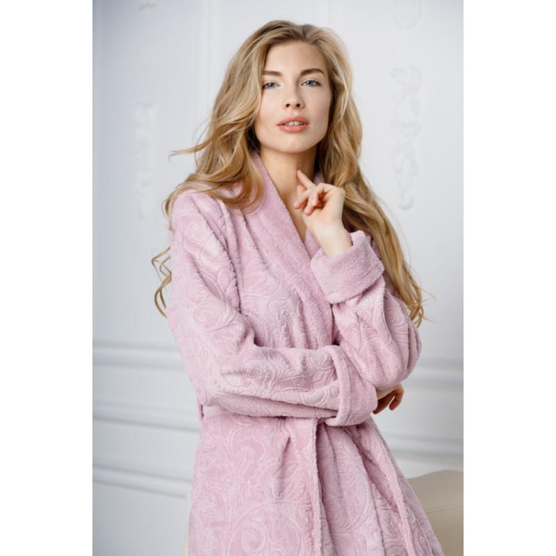 Бамбуковый женский халат Belinda-roze(EFW)