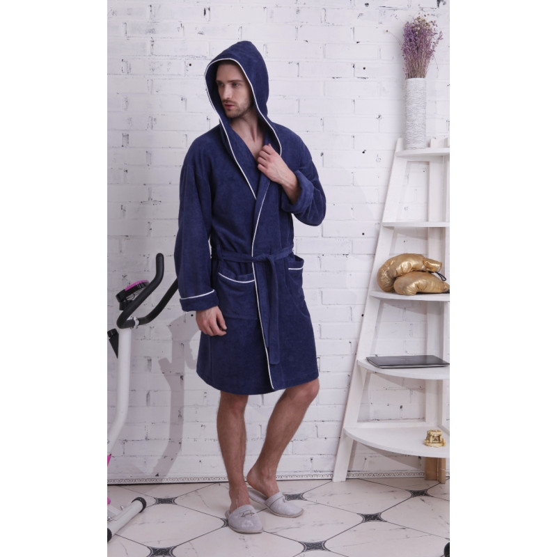 Спортивный укороченный халат из бамбука Buffalo SPORT(PECHE MONNAIE France 905jeans)