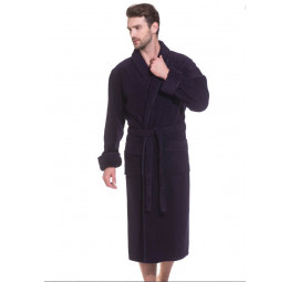 """Шикарный махровый халат из микро-коттона BRUTAL(PECHE MONNAIE France 920) - """"Толстый"""" и плотный!"""