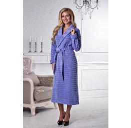 Изысканный махровый халат Tiffany(ФИАЛКА)