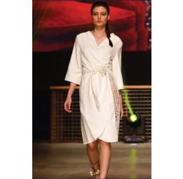 Стильный махровый халат Felissia