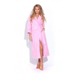 Женский банный халат Light Rose(701 розовый)