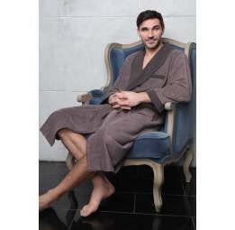 Alonso (мокко) классический бамбуковый халат