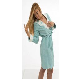 """Изысканный женский халат MONIQUE KELEBEK - """"Моника бабочки"""""""