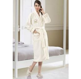 Махровый халат с капюшоном QUEEN