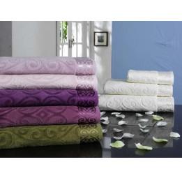 Нежное махровое полотенце SAL VIP Cotton -90*150см