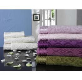 Нежное махровое полотенце SAL VIP Cotton -70*140см