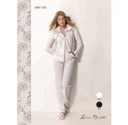 Стильный велюровый костюм Luisa Moretti(LMS 1201)