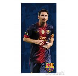 Полотенце махра-велюр F.C.Barcelona Messi (лицензионное)