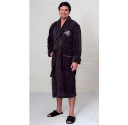 Махровый халат из бамбука Cardinal's(EFW black)