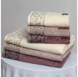 Набор из 2-х бамбуковых полотенец EMPIRE(EFW). 7-мь расцветок. Подарочная коробка.