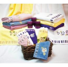 Бамбуковые полотенца - салфетки ANNUTA(EFW). 6-ть расцветок.