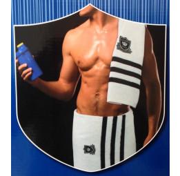 Шикарный комплект полотенец Passionesa Sport(белый)