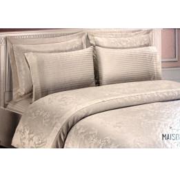 Бамбуковое постельное белье с кружевом Gipursuz(EMD 019)