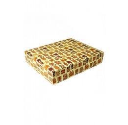 """Стильная упаковка для халатов и полотенец """"Роскошные подарки""""(большая закрытая 14/349)"""