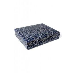 """Стильная упаковка для халатов и полотенец """"Зимний узор""""(большая закрытая 14/260)"""