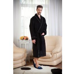 Универсальный махровый халат JBS(E 4809black)