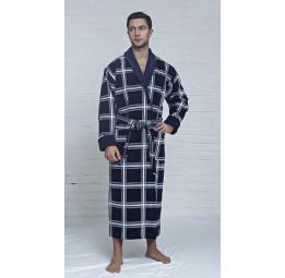 Мужской махровый халат Cottonluxe(EFW 508)