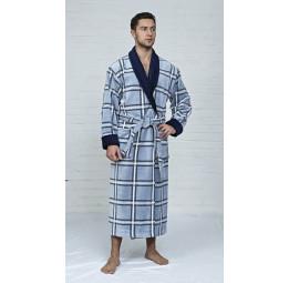 Мужской махровый халат Cottonluxe(EFW 502)