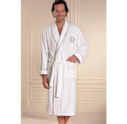 Махровый халат с вышивкой OLYMP (ЕSC)