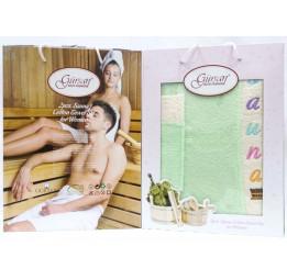 Женский набор для бани и сауны Sauna set(EA Gursan)