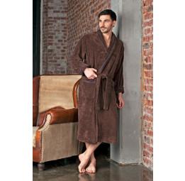 Махровый халат из бамбука Daniel's(EFW 418shoko)
