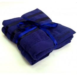 Комплект махровых полотенец Sophias(EA Passa dark blue) -Хит продаж!