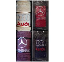 Махровое полотенце для мужчин THE CARS(EA). В подарочной коробке.