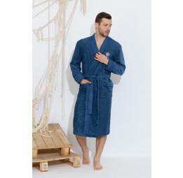 Махровый халат из бамбука SEAMAN(PECHE MONNAIE France 405jeans)