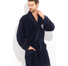 Стильный махровый халат Pirates(PECHE MONNAIE France 915dark)