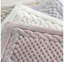 Набор ковриков Erguvan 45х60 см. и 60х100 см.(ESC EGHC)