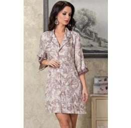 Халат - рубашка из натурального шелка EVITA (3087)