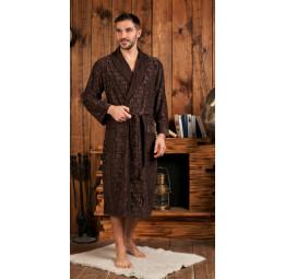 Облегченный велюровый халат VIP Persona(EFW 463 shoko)