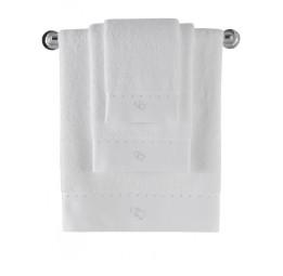 Эксклюзивное, шикарное махровое полотенце MAIA(EMD white). Подарочная упаковка
