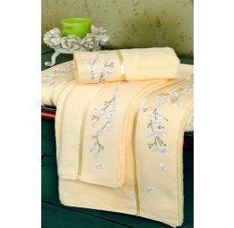 Бамбуковое полотенце с вышивкой Hayal (ESC)