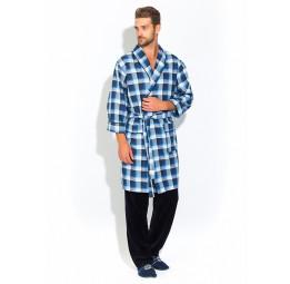 Стильный комплект - легкий халат и брюки Première №32(PECHE MONNAIE France 2109/1)