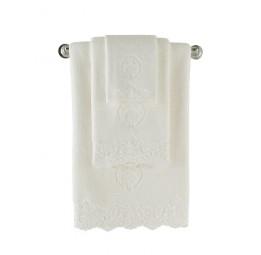 Махровое полотенце с изысканным кружевом Lingerie (ESC)
