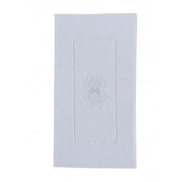 Коврик для ног Flower 50x90 white (ESC)