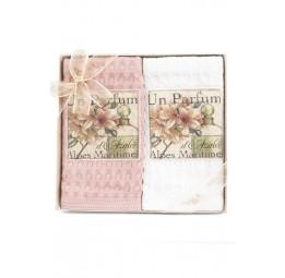 Комплект вафельных полотенец Un parfume 50x70 2-шт (ESC)