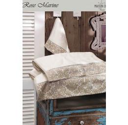 Набор махровых полотенец из бамбука Rose marine (EMD) 3 шт.