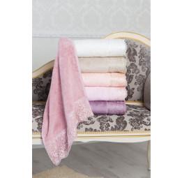Бамбуковое полотенце с гипюром Julia Bamboo 85x150 (EMD)