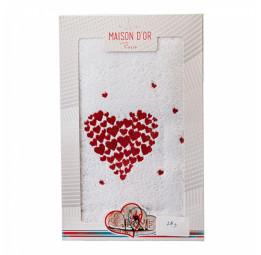 Махровое полотенце с вышивкой Amaur (EMD)