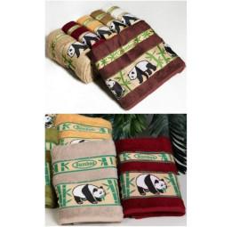 Комплект махровых полотенец из бамбука PANDA