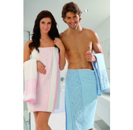 Большое махровое полотенце SULTAN Luxe - 70x140 см.
