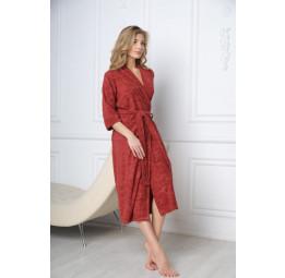 Облегченный халат из бамбука Bella-marcala(EFW)