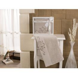 """Полотенце махровое """"KARNA"""" с вышивкой VELSEN 50x90 см 1/1"""