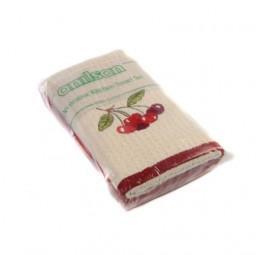Комплект кухонных махровых полотенец TOWEL TIME Вишня